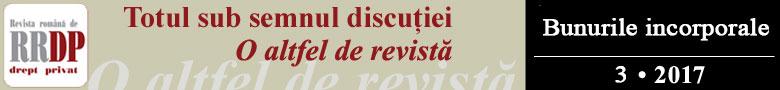Revista Romana de Drept Privat RRDP