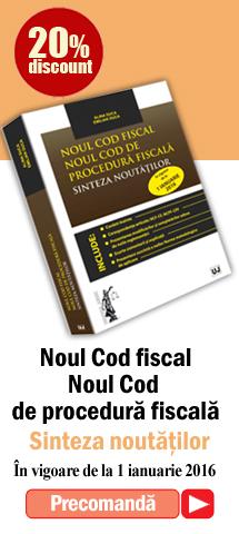 Banner noul cod fiscal