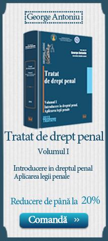 tratat de drept penal - Antoniu