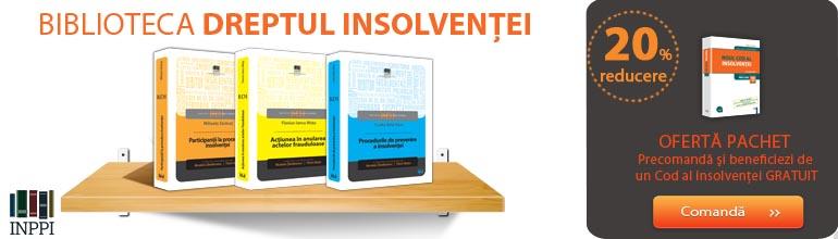 Biblioteca dreptul insolventei