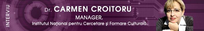Interviu cu Dr. Carmen Croitoru