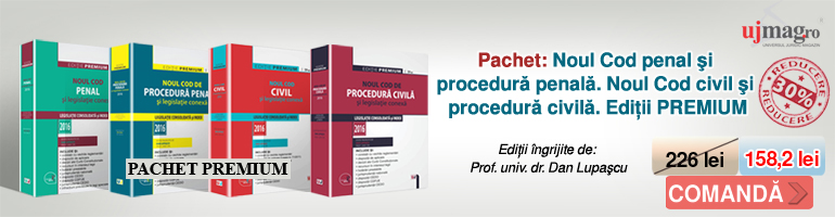 Prof. univ. dr. Dan Lupascu - PACHET: Noul Cod penal si procedura penala. Noul Cod civil si procedura civila. Editii PREMIUM