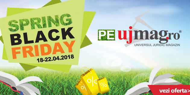 Spring Black Friday pe UJmag.ro
