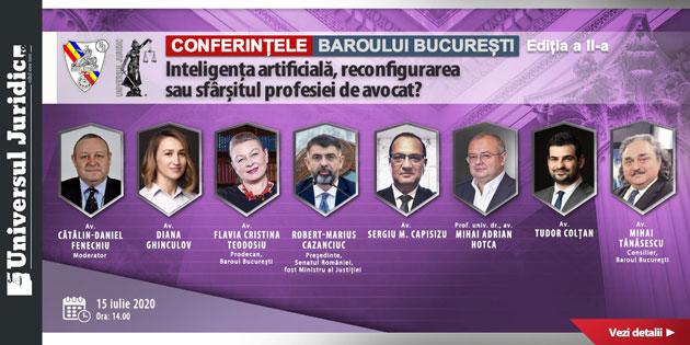 Conferintele Video Universul Juridic