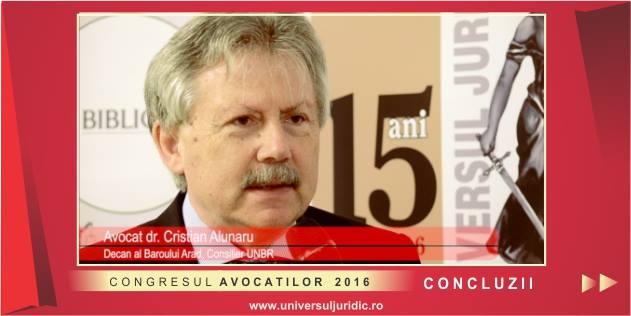 Interviu av. dr. Cristian Alunaru