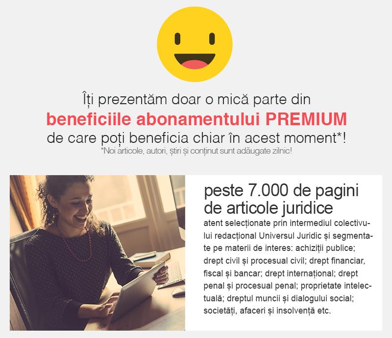 Universul Juridic PREMIUM