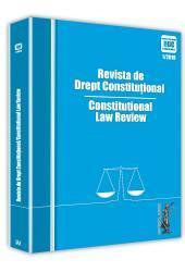 Universul Juridic: Revista de drept constitutional nr. 1/2018